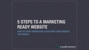Marketing Ready Webinar