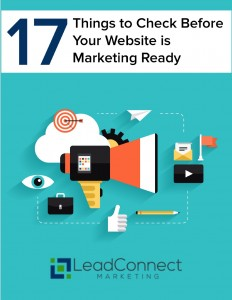 17 Things to Check Before Your Website is Marketing Ready